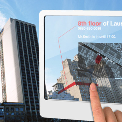 Augmented Reality for Tablets finding buildings
