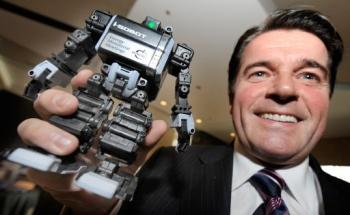 Canada's Gary Lunn and a special edition i-Sobot