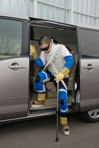 Nissan Using Aging Suit to Develop Easily Accessable Vehicles