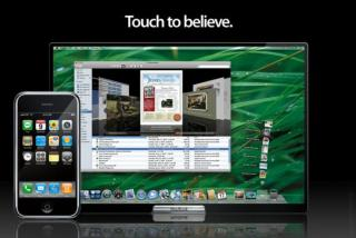 Apple's Touch To Believes Design for iSlate / Tablet