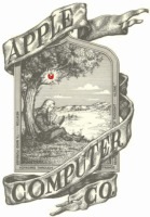 Apple's first logo designed by Ron Wayne
