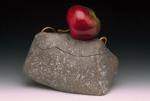 The Apple & Granite Purse