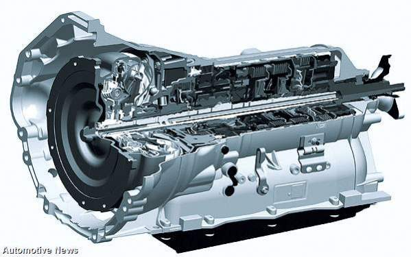 Audi 8-Speed Transmission