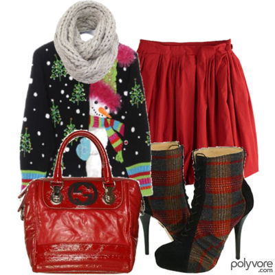Christmas Outfit with Accessories