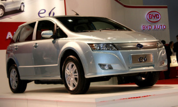 China's BYD E6 Electric Car
