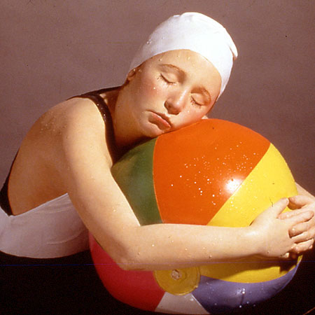 Brooke With Beachball