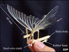 Artificial swallowtail butterfly: image via rdmag.com