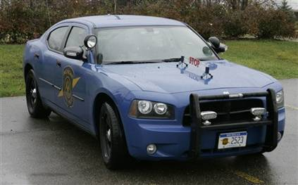 Michigan State Police Test Vehicle