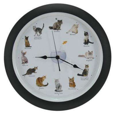 What Time Is It Your Barking Meowing Or Singing Clock