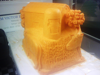 Cheese Sculpture