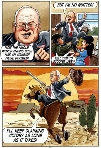 Dick Cheney in Crude Behavior