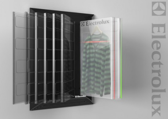 Clean Closet by Michael Edenius, Sweden: Electrolux Design Lab Finalist, 2010