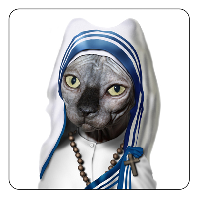 Mother Theresa Coaster: ©Takkoda