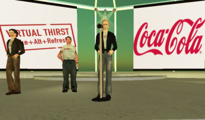 Coca Cola Virtual Thirst on Second Life