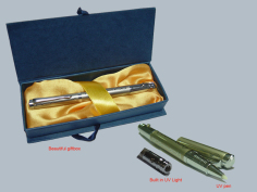 Combination UV Light and Pen Set