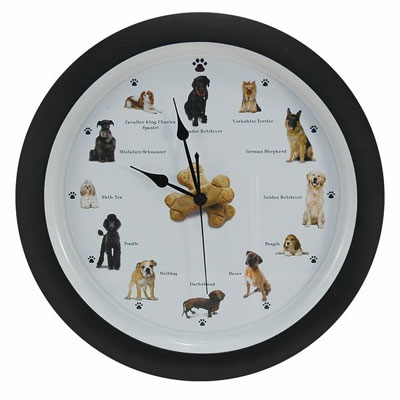 Barking Dog Clock