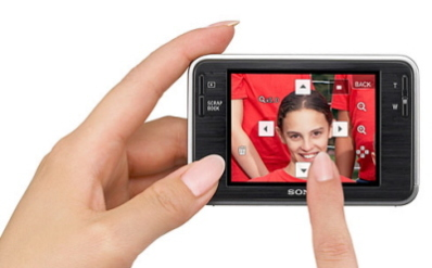 DSC-T2 Touch-Screen with &quot;Smile Shutter&quot;