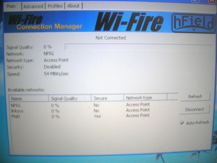 Wi-Fire Connection Manager