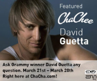 David Guetta Featured ChaChee