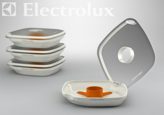 Dismount Washer by Lichen Guo, China: Electrolux Design Lab Finalist, 2010