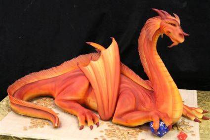 Dragon Cake - For the Ultimate Gamer