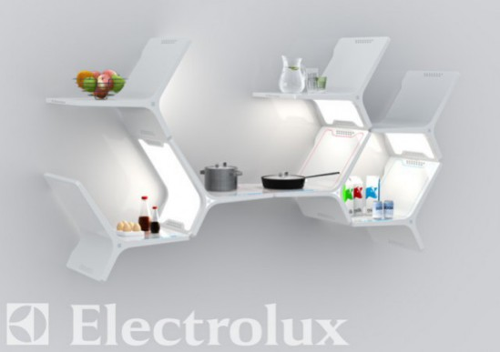 Elements Modular Kitchen by Matthew Gilbride, USA: Electrolux Design Lab Finalist, 2010