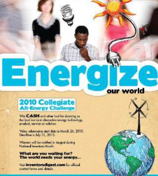 College Inventors Challenge Poster
