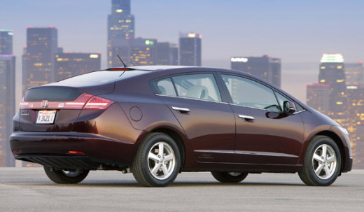 Honda FCX Clarity - headin' out on the Hydrogen Highway
