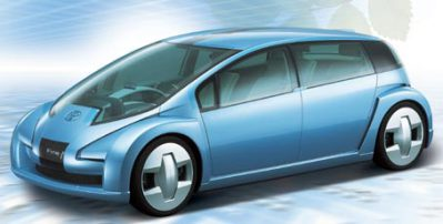 Toyota Fuel Cell Concept Car
