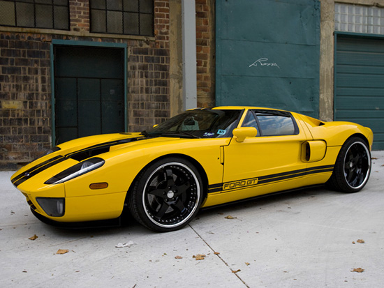Twin Turbo Ford GT