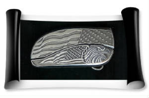 Flag Buckle Knife