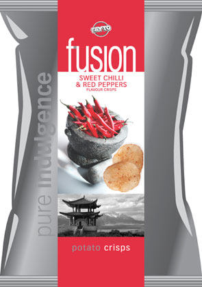 Tayto Fusion Sweet Chili & Red Pepper Potato Chips