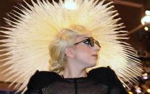 Lady Gaga with Hat Hair