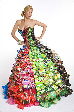 Designers That Use Recycled Materials Of Recycled Fashion And The Designers Gary Harvey