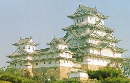 Himeji Castle, a fantasy in white