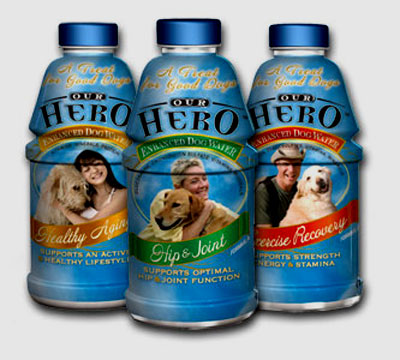 Water, Water, Bottled Water... Even For Your Pets!