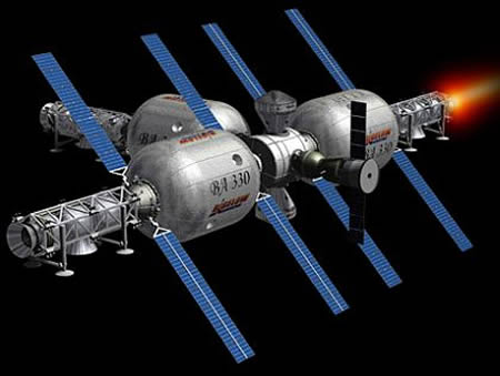 The Inflatable Space Hotel