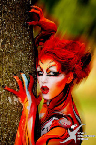 World BodyPainting Festival: Photo by Joe Aichner