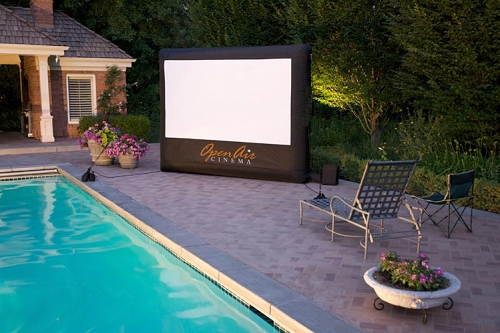 Invention Brings The Movie Theater To Your Backyard