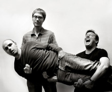 Karl Pilkington, Stephen Merchant & Ricky Gervais