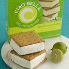 Key Lime Graham Gelato Squares