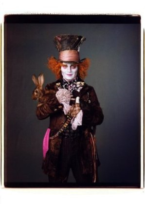 Mad Hatter in Tim Burton's Alice in Wonderland