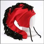Red Mohawk Drink Hat