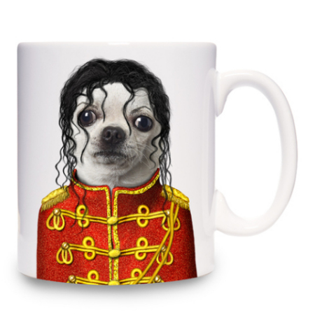 Jackson Mug by Takkoda Pet Presents: ©Takkoda