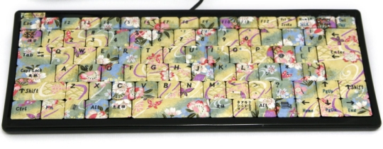 The made to order, handmade decorative NISHI-KI keyboard