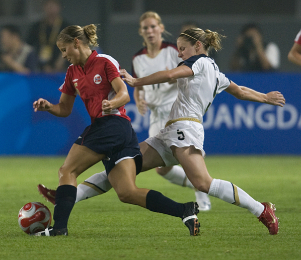U.S. Women's Soccer vs Norway, 2008