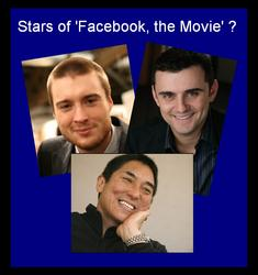 Pete Cashmore,  Gary Vaynerchuk and Guy Kawasaki