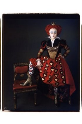 Red Queen in Tim Burton's Alice in Wonderland