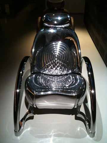 Moreover Rover Chair by Ron Arad: © Jeni Rodger