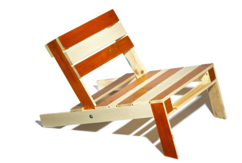 Pallet Beach Chair by Cornelia Parker Dennis Pederson
